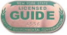 New York State Licensed Guide Badge